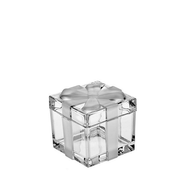 Bohemia Crystal dárková dóza s víkem 72mm