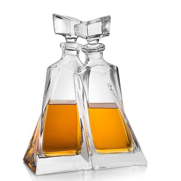 Levně Crystalite Bohemia LOVERS Whisky Set (1+1)
