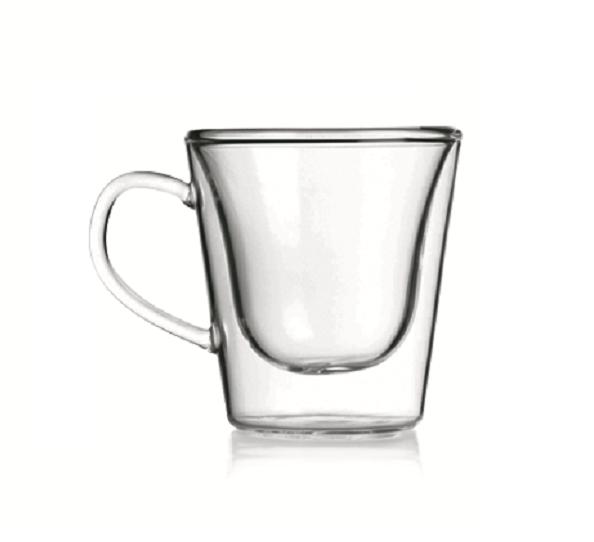 Luigi Bormioli termo hrnky TAZZA CAFFÉ 295 ml, 2 ks