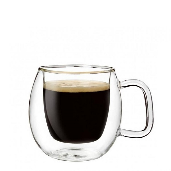 Luigi Bormioli termo hrnky na espresso BRASILE 75 ml, 2 ks
