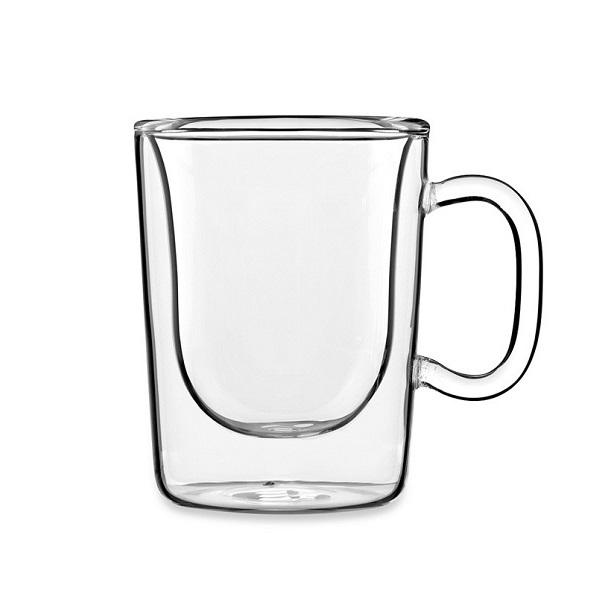 Levně Luigi Bormioli termo hrnky na espresso ETIOPIA 85 ml, 2 ks