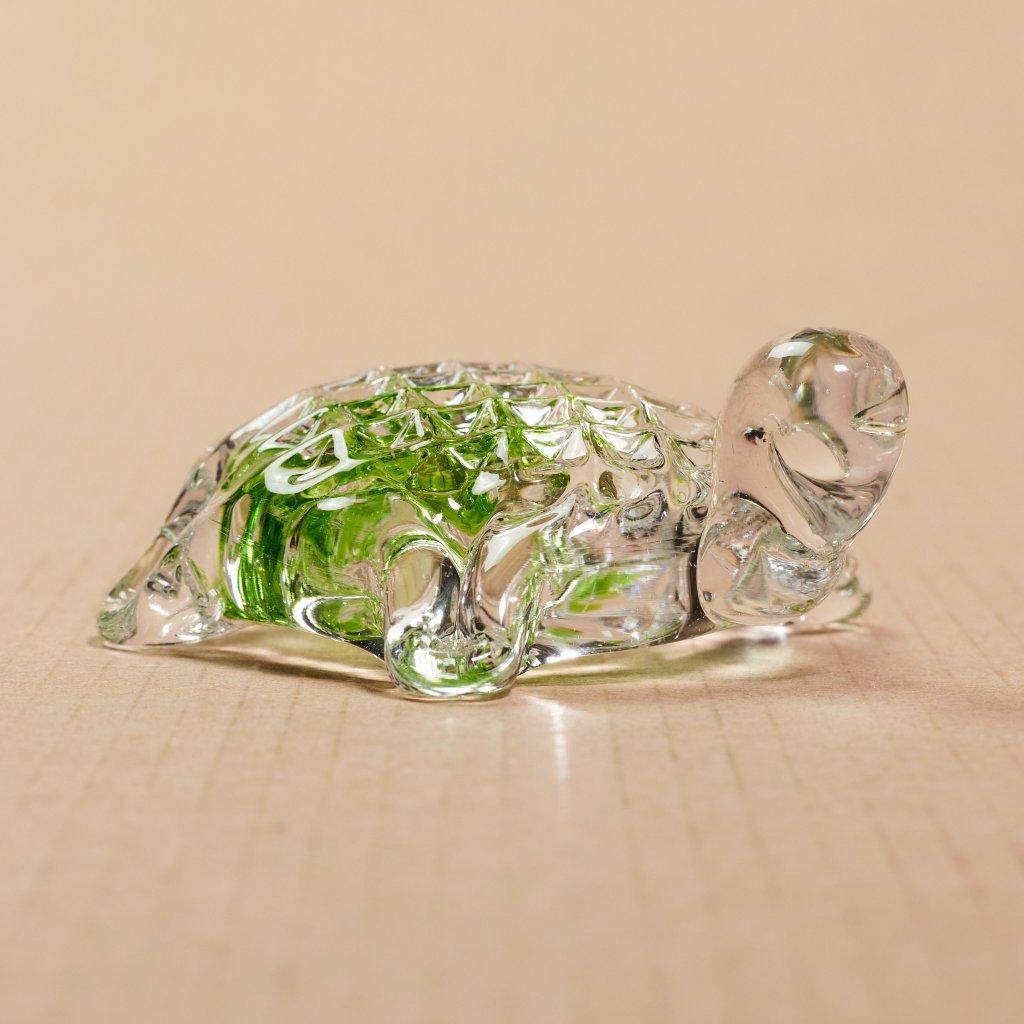 Sklená korytnačka - sklený sen