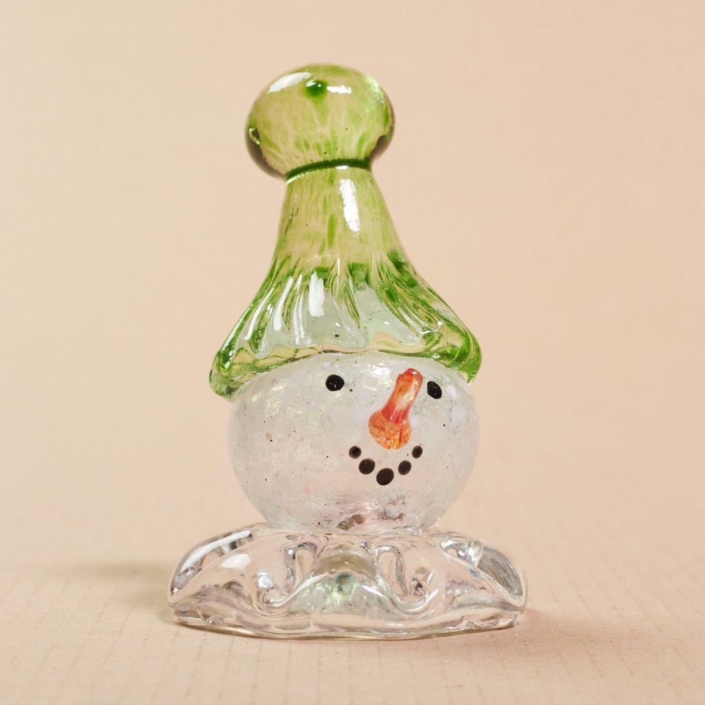 Sklený snehuliačik malý - sklený sen