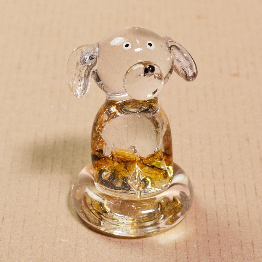 Sklený psík - sklený sen