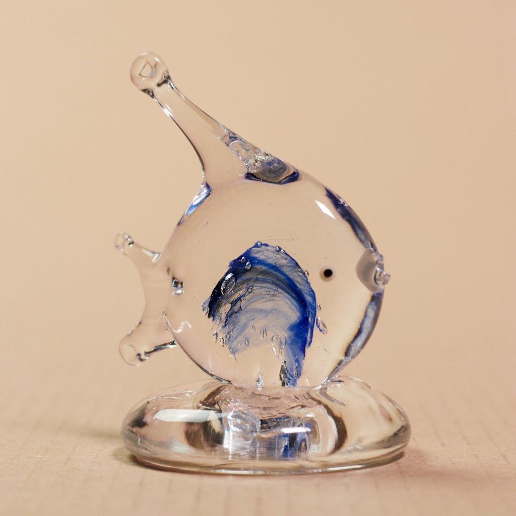 Sklená rybka skalárik - sklený sen