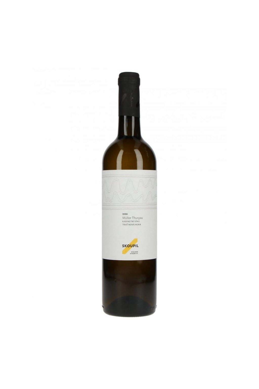 Müller Thurgau 2016, kabinetní víno
