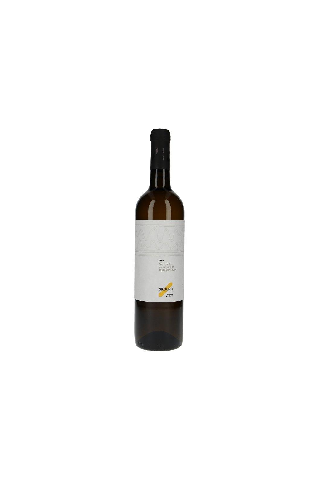 Neuburské 2016, kabinetní víno