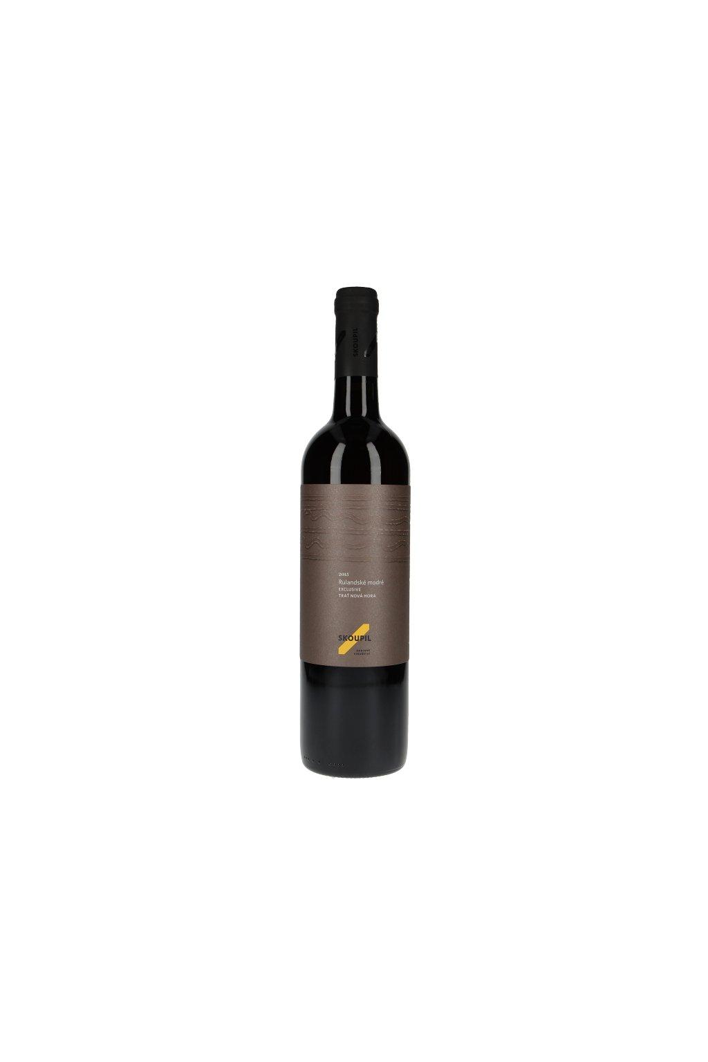 Rulandské modré Exclusive 2015, jakostní víno