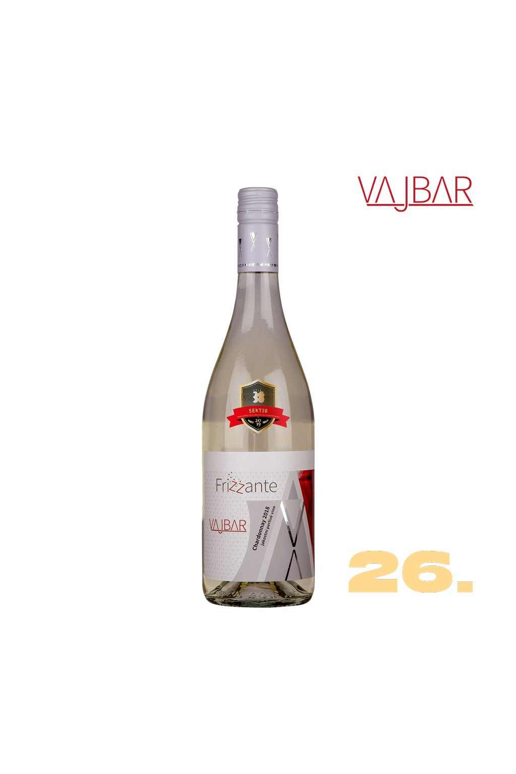 26 Chardonnay FRIZZANTE
