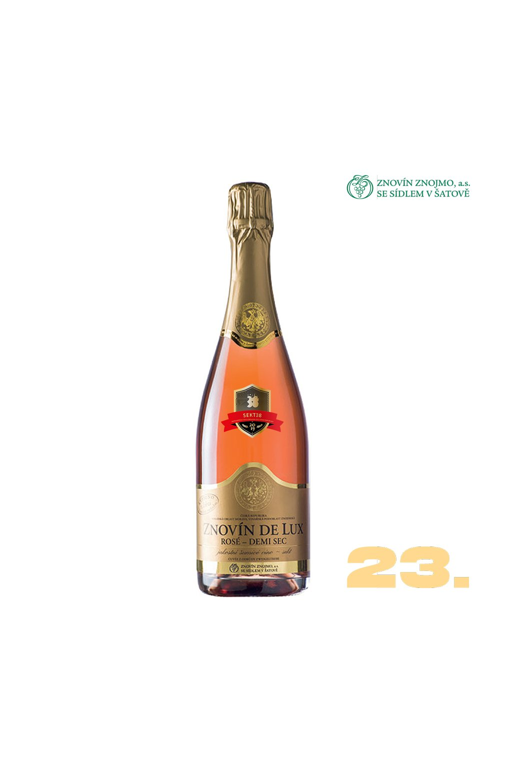 23 Znovin de Lux rose dem sec