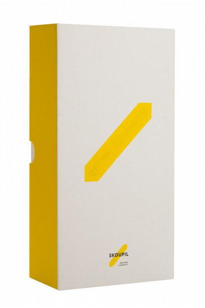 Papírová krabička na 2 lahve - vrchní plnění