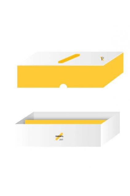 Papírová krabička na 2 lahve