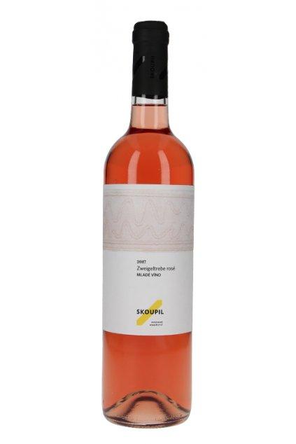 Zweigeltrebe 2018, moravské zemské víno