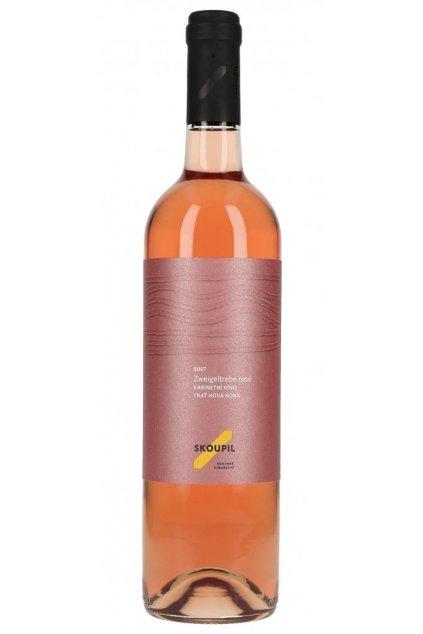 Zweigeltrebe rosé  2018, kabinetní víno