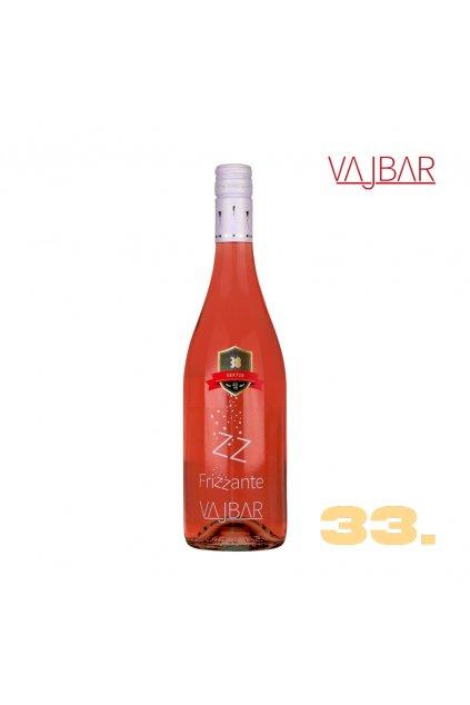 33 Cabernet Moravia rose FRIZZANTE