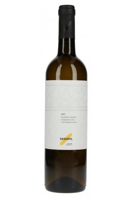 Ryzlink vlašský 2018, kabinetní víno