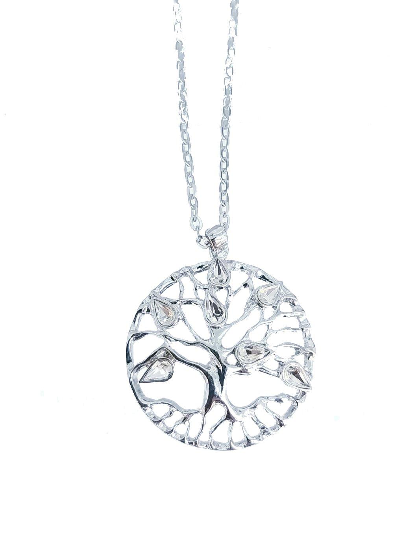 j81300175cr Náhrdelník Strom Života Swarovski II
