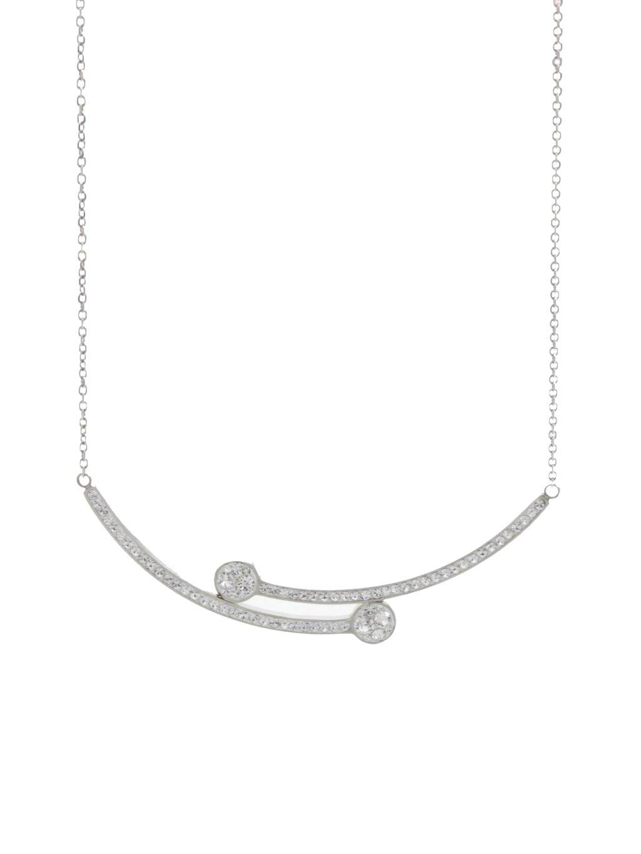 J61300472cr Ocelový náhrdelník Vara Swarovski® Crystali® Crystal