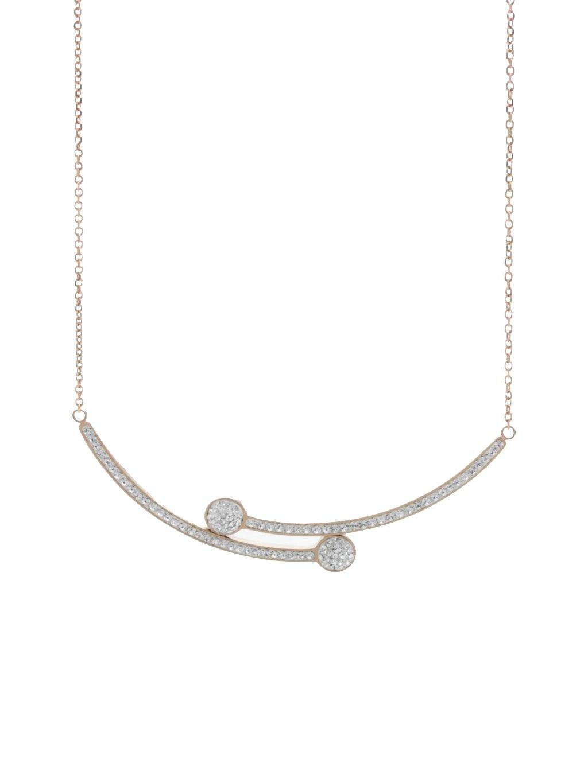 J61300472RGOcelový náhrdelník Vara Swarovski® Rose Gold
