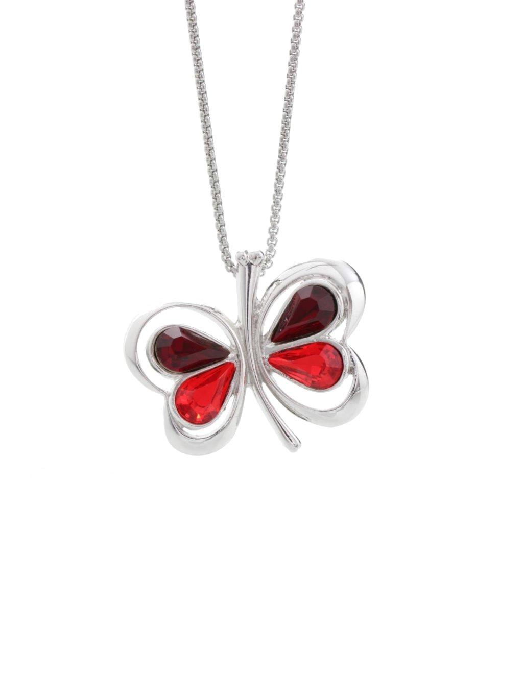 Náhrdelník Motýl s kameny Swarovski® Siam