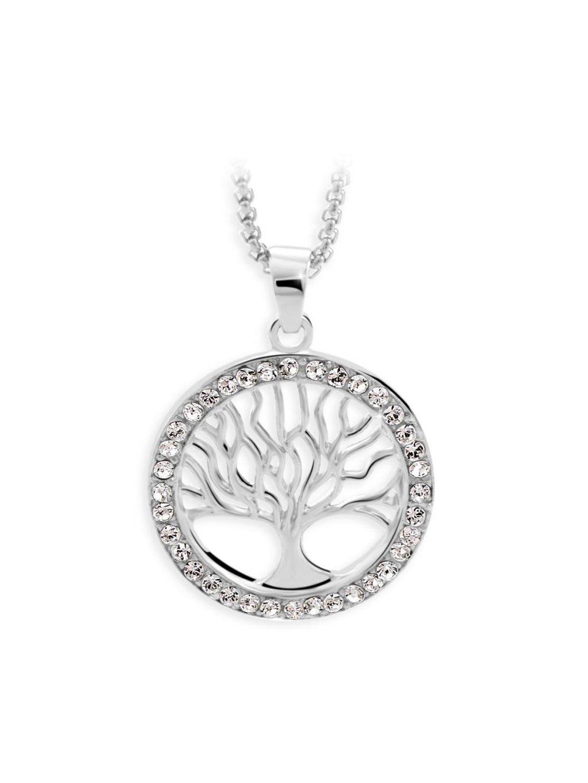 Náhrdelník Strom s kameny Swarovski® Crystal