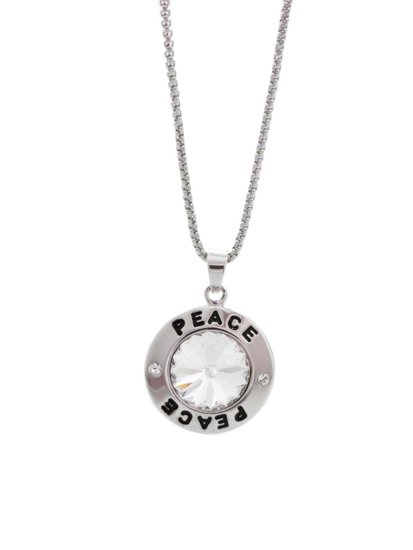 Náhrdelník PEACE s kamenem Swarovski® Crystal