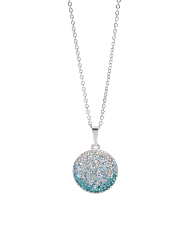 Náhrdelník Kolečko s kameny Swarovski® Aquamarine