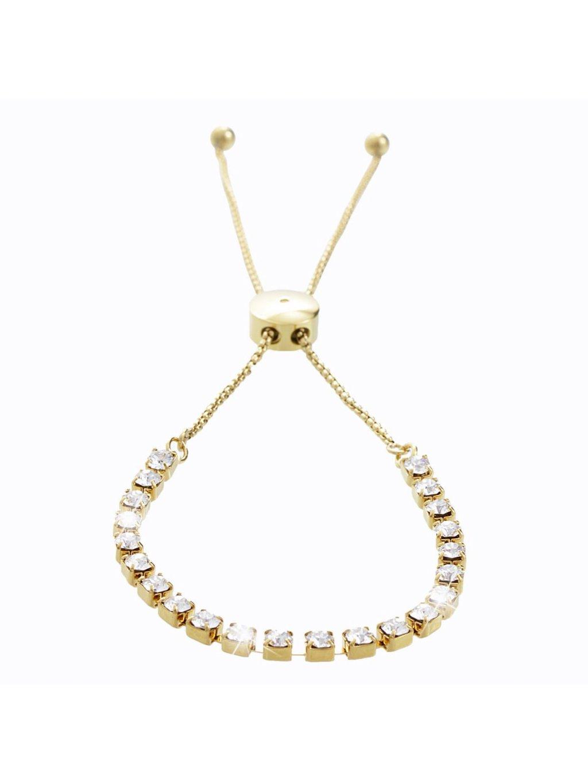 Náramek Strass s kameny Swarovski® Gold