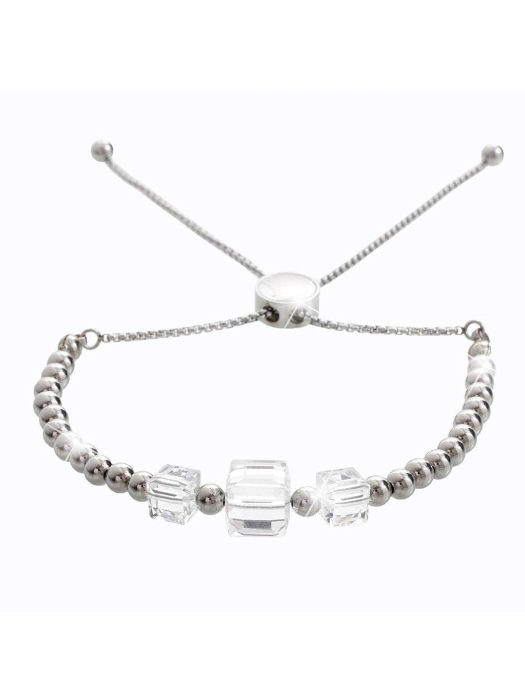 Náramek Kostičky s kameny Swarovski® Crystal
