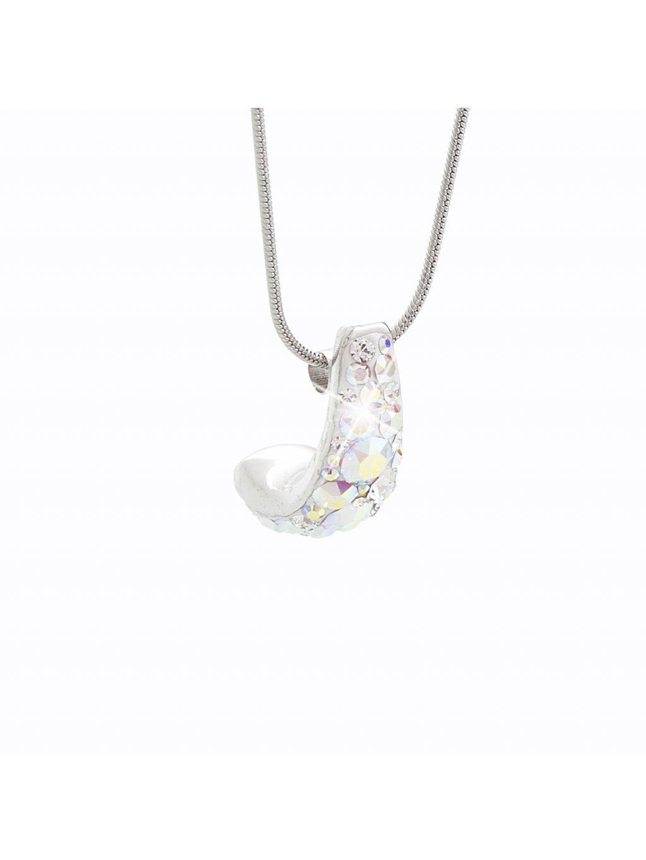 Náhrdelník Kreole s kameny Swarovski® Crystal AB