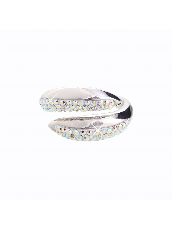 J92700031AB Stříbrný prsten Swarovski® components I.