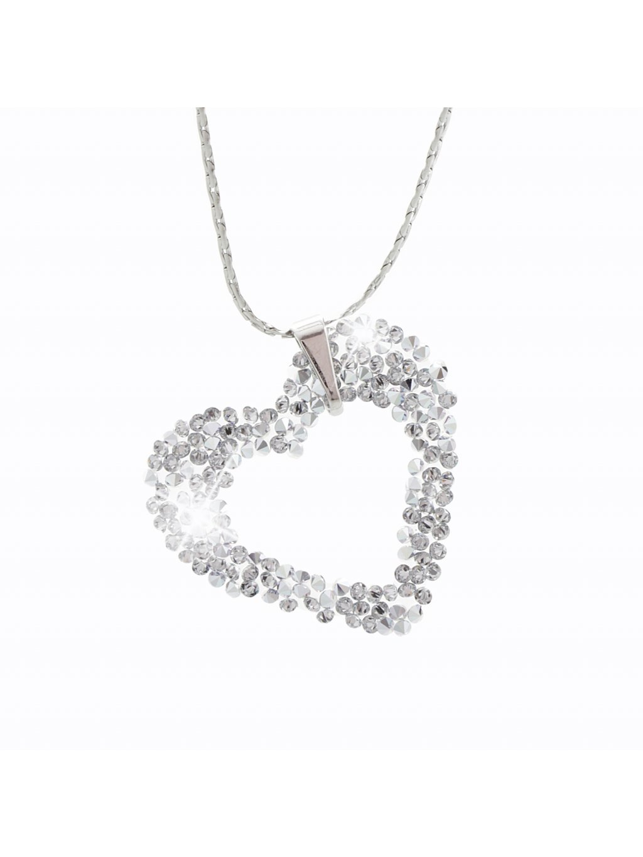 Náhrdelník Srdíčko s kameny Swarovski® Crystal