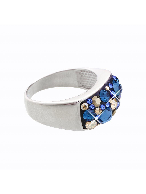 J92700088MO Stříbrný prsten Swarovski® components XIII.