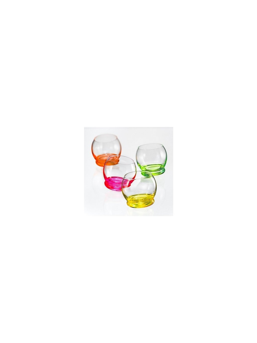 Sklenice Crazy Neon Set 60ml 4ks