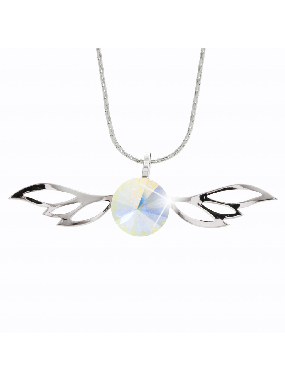 Náhrdelník Křídla rivola s kameny Swarovski® Crystal AB