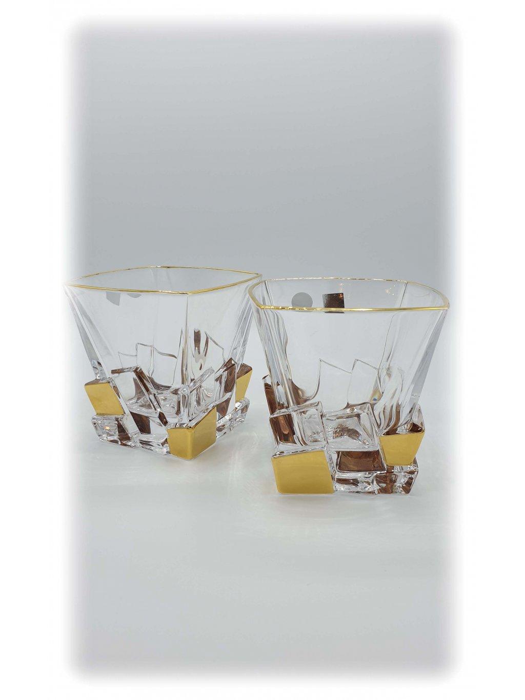 3529 sklenice zlacene crack