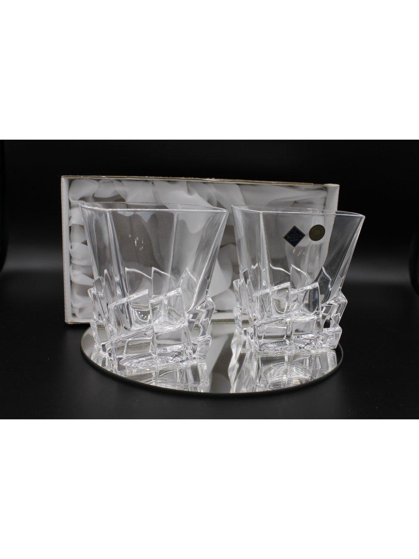 3675 sklenice nezlacene crack 2ks