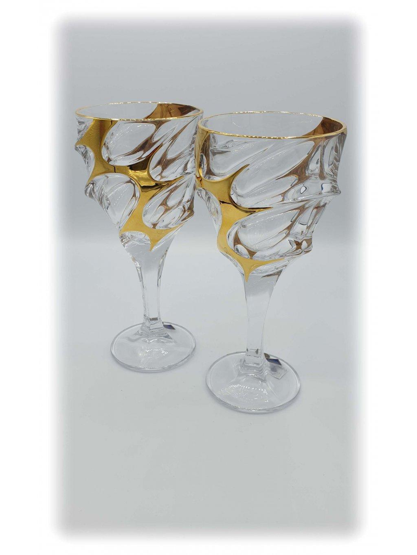 3753 kristalove sklenice vino glacier 2ks