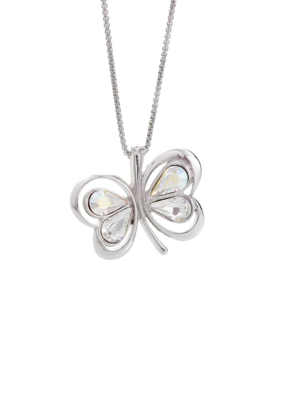 Náhrdelník Motýl s kameny Swarovski® Crystal