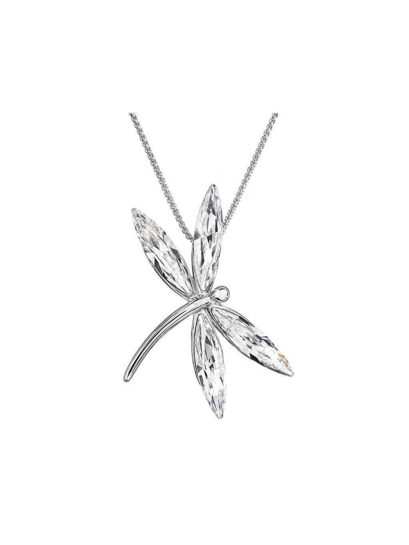 Řetízek s přívěskem Vážka Swarovski® Crystal