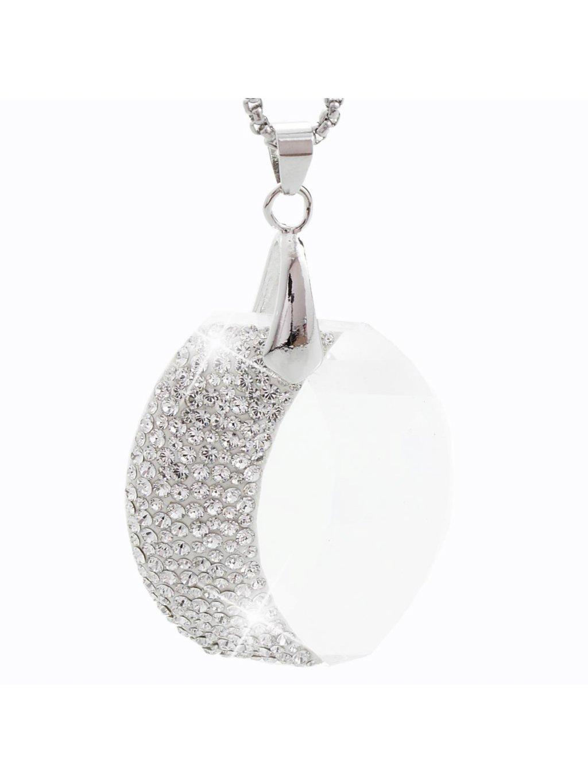 Náhrdelník Měsíc s kameny Swarovski® Crystal
