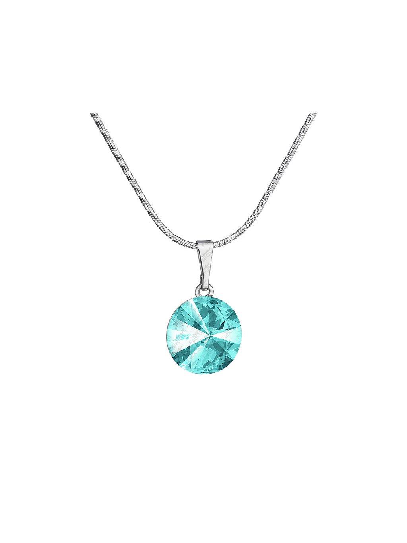 Náhrdelník Rivoli s kamenem Swarovski® Light Turquoise