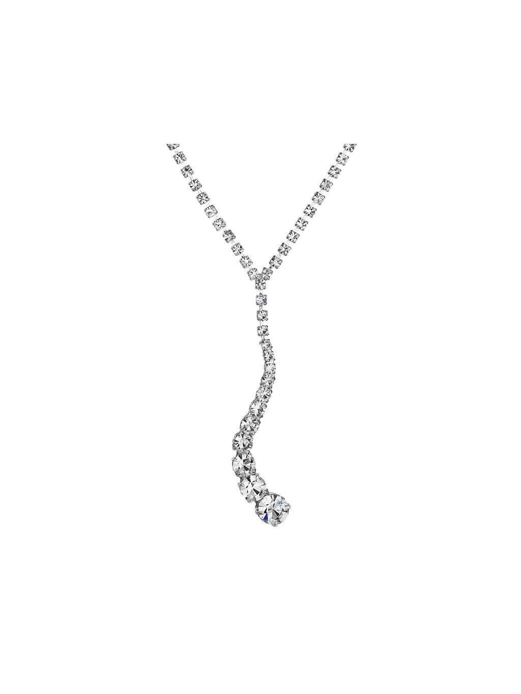Náhrdelník Vlna s šatony Preciosa® Crystal PRE