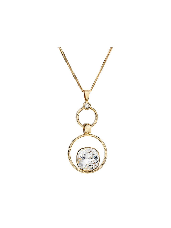 Náhrdelník Kroužky s kameny Swarovski® Crystal