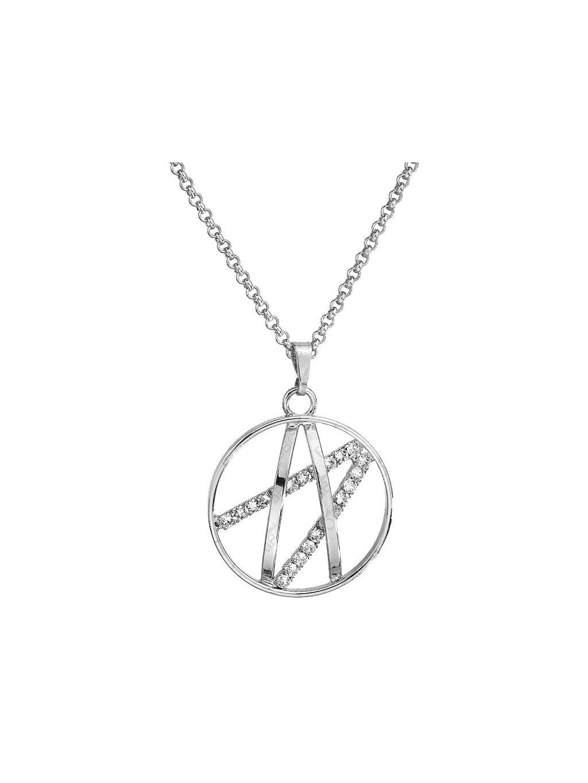 Náhrdelník Ornament malý s kameny Swarovski® Crystal