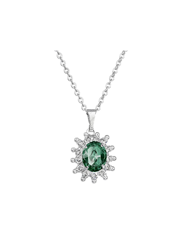 Náhrdelník Kate s kamenem Swarovski® Emerald