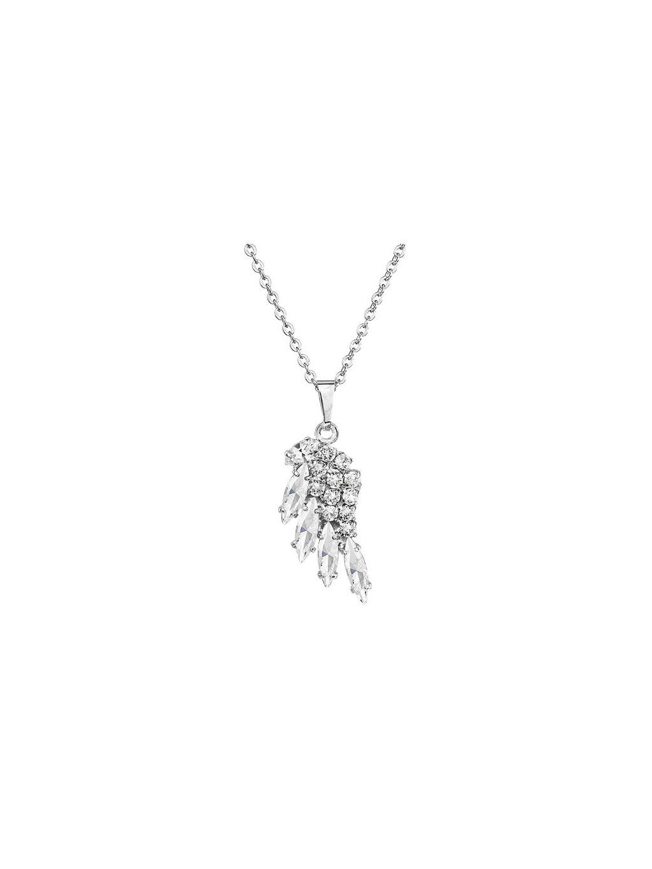 Náhrdelník Křídlo mini s kameny Swarovski® Crystal