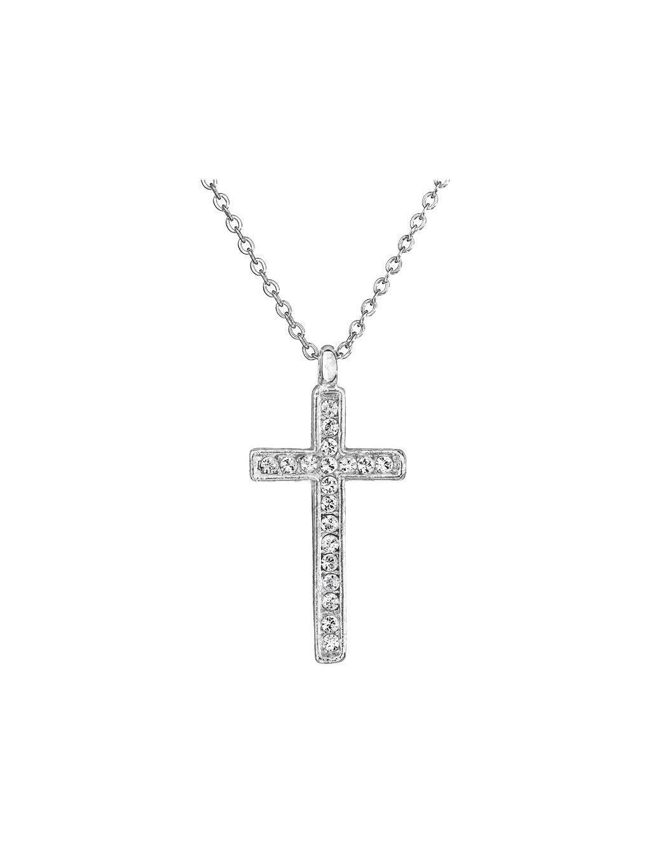 Náhrdelník Křížek s kameny Swarovski® Crystal
