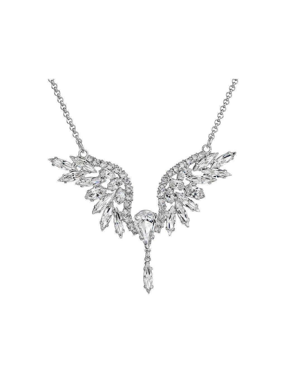 Náhrdelník Anděl štras s kameny Swarovski® Crystal