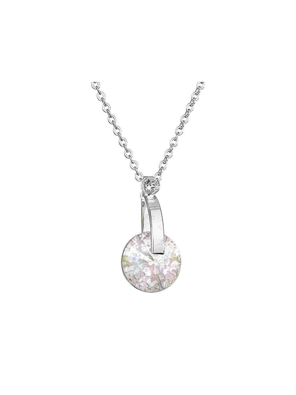 Nahrdelník D-Rivoli  s kamenem Swarovski® White Patina